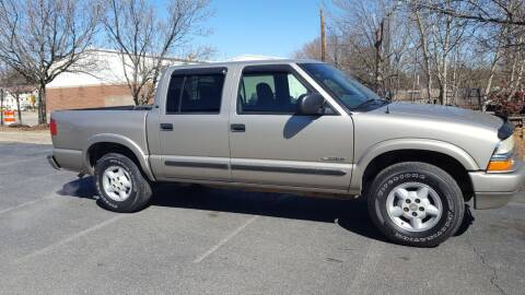 2004 Chevrolet S-10 for sale at Economy Auto Sales in Dumfries VA