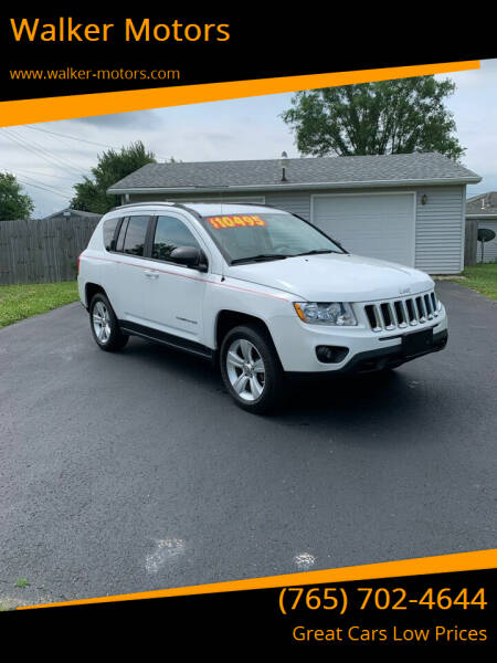 2012 Jeep Compass for sale at Walker Motors in Muncie IN