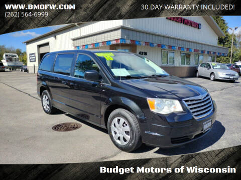 2010 Chrysler Town and Country for sale at Budget Motors of Wisconsin in Racine WI