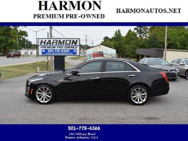 2016 Cadillac CTS for sale at Harmon Premium Pre-Owned in Benton AR