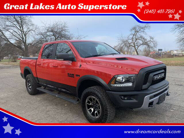 2017 RAM Ram Pickup 1500 for sale at Great Lakes Auto Superstore in Waterford Township MI