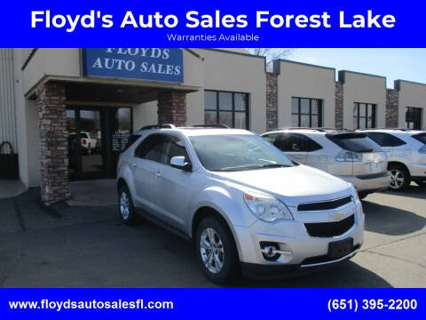 2011 Chevrolet Equinox for sale at Floyd's Auto Sales Forest Lake in Forest Lake MN