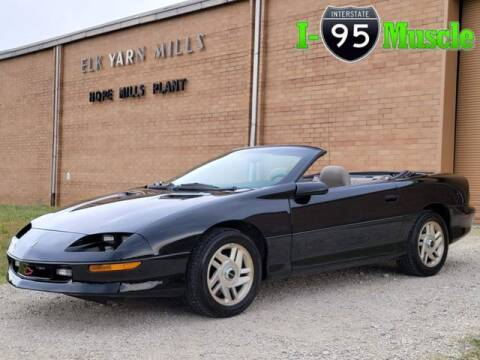 1996 Chevrolet Camaro for sale at I-95 Muscle in Hope Mills NC