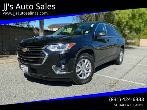 2018 Chevrolet Traverse for sale at JJ's Auto Sales in Salinas CA
