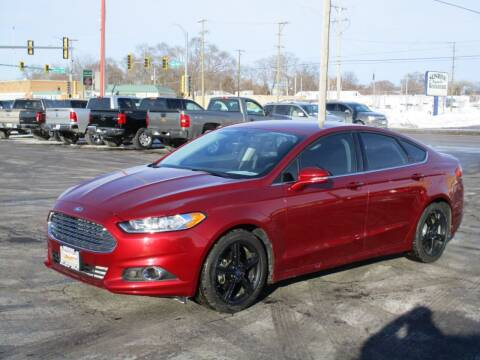 2016 Ford Fusion for sale at Windsor Auto Sales in Loves Park IL