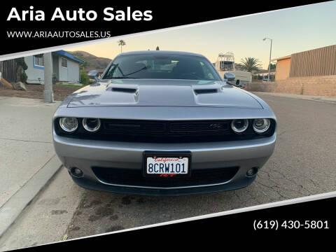 2018 Dodge Challenger for sale at Aria Auto Sales in El Cajon CA