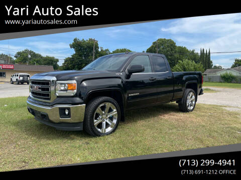 2014 GMC Sierra 1500 for sale at Yari Auto Sales in Houston TX