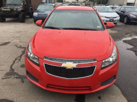 2014 Chevrolet Cruze for sale at Ride One Auto Sales in Norfolk VA