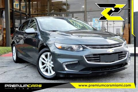 2018 Chevrolet Malibu for sale at Premium Cars of Miami in Miami FL