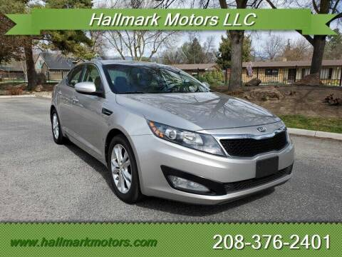 2013 Kia Optima for sale at HALLMARK MOTORS LLC in Boise ID