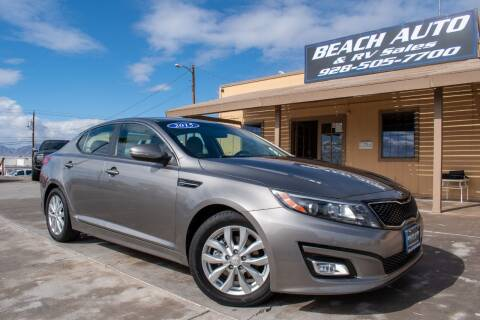 2015 Kia Optima for sale at Beach Auto and RV Sales in Lake Havasu City AZ