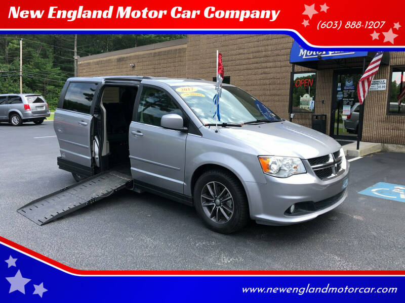 2017 Dodge Grand Caravan for sale at New England Motor Car Company in Hudson NH