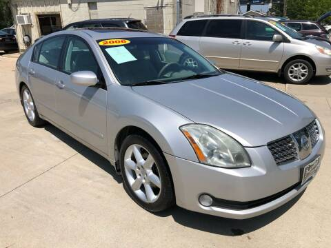 2006 Nissan Maxima for sale at Zacatecas Motors Corp in Des Moines IA