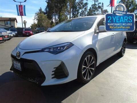 2017 Toyota Corolla for sale at Centre City Motors in Escondido CA