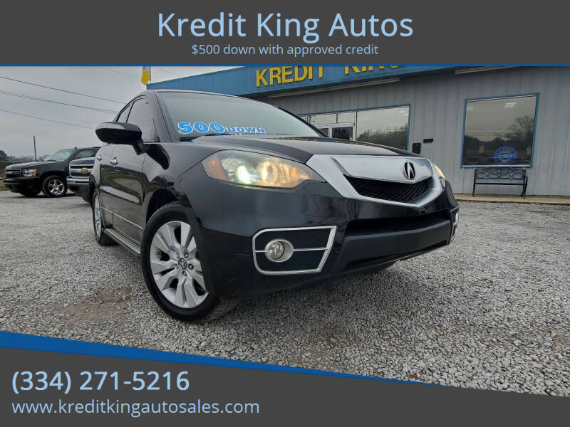 2010 Acura RDX for sale at Kredit King Autos in Montgomery AL
