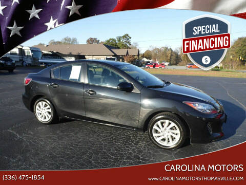 2012 Mazda MAZDA3 for sale at CAROLINA MOTORS in Thomasville NC