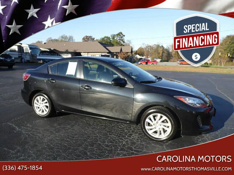 2012 Mazda MAZDA3 for sale at CAROLINA MOTORS in Thomasville NC