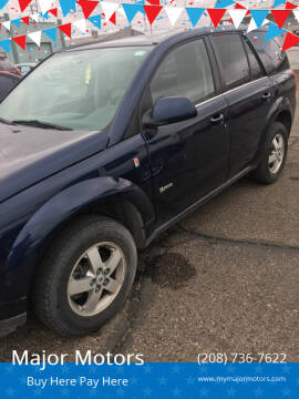 2007 Saturn Vue for sale at Major Motors in Twin Falls ID