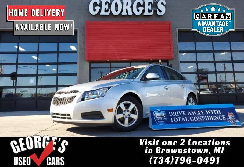2014 Chevrolet Cruze for sale at George's Used Cars - Pennsylvania & Allen in Brownstown MI