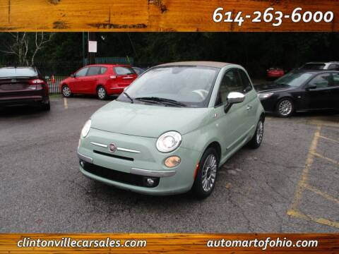 2013 FIAT 500c for sale at Clintonville Car Sales - AutoMart of Ohio in Columbus OH