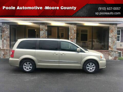 2011 Chrysler Town and Country for sale at Poole Automotive -Moore County in Aberdeen NC