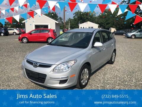 2012 Hyundai Elantra Touring for sale at Jims Auto Sales in Lakehurst NJ