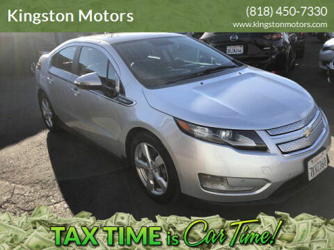 2012 Chevrolet Volt for sale at Kingston Motors in North Hollywood CA