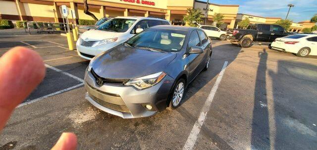 2015 Toyota Corolla for sale at Hotline 4 Auto in Tucson AZ