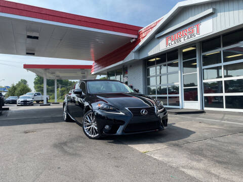 2014 Lexus IS 250 for sale at Furrst Class Cars LLC in Charlotte NC