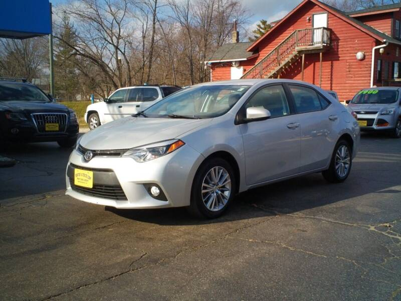2015 Toyota Corolla for sale at BestBuyAutoLtd in Spring Grove IL