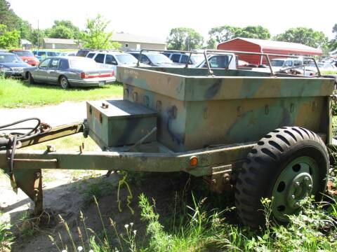 1963 Military Ammo Trailer M-332 for sale at D & T AUTO INC in Columbus MN