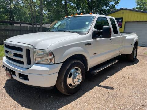 2005 Ford F-350 Super Duty for sale at M & J Motor Sports in New Caney TX