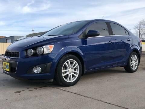 2013 Chevrolet Sonic for sale at El Tucanazo Auto Sales in Grand Island NE