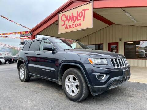 2014 Jeep Grand Cherokee for sale at Sandlot Autos in Tyler TX