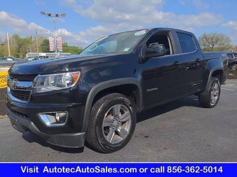 2016 Chevrolet Colorado for sale at Autotec Auto Sales in Vineland NJ