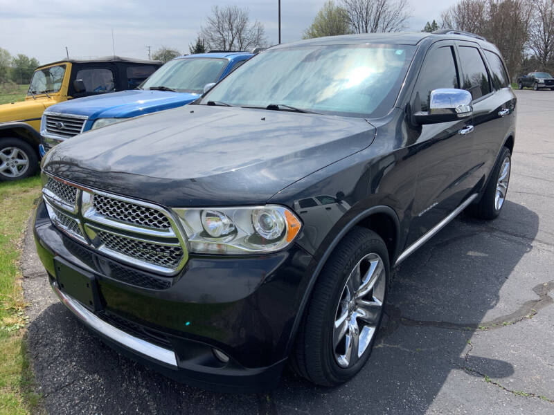 2011 Dodge Durango for sale at Blake Hollenbeck Auto Sales in Greenville MI