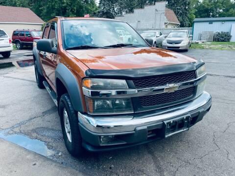 2005 Chevrolet Colorado for sale at SHEFFIELD MOTORS INC in Kenosha WI