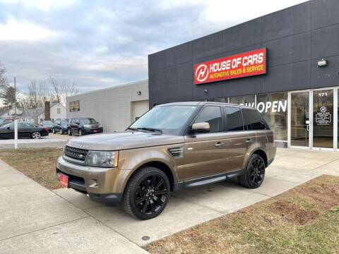 2011 Land Rover Range Rover Sport for sale at HOUSE OF CARS CT in Meriden CT