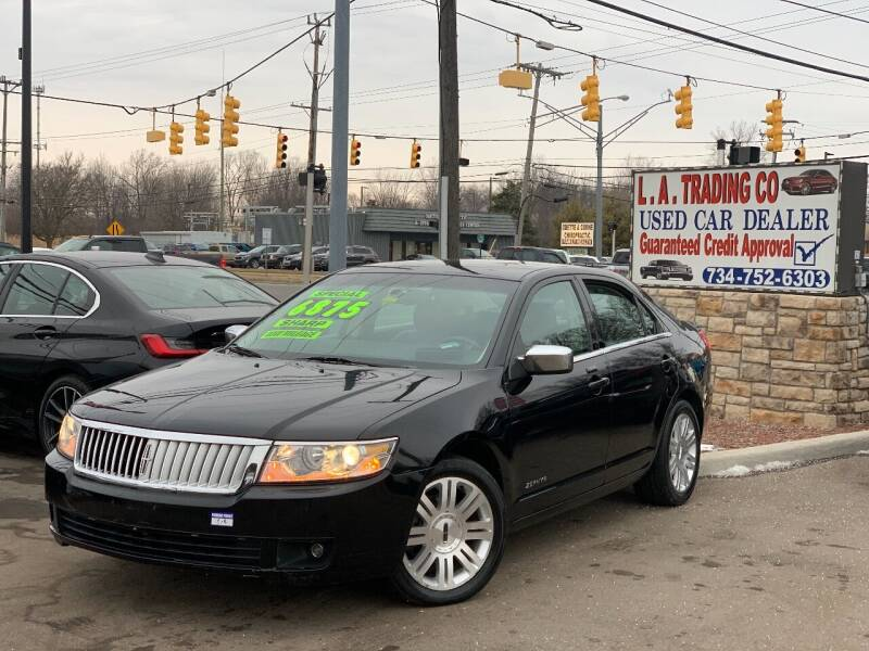 2006 Lincoln Zephyr for sale at L.A. Trading Co. in Woodhaven MI