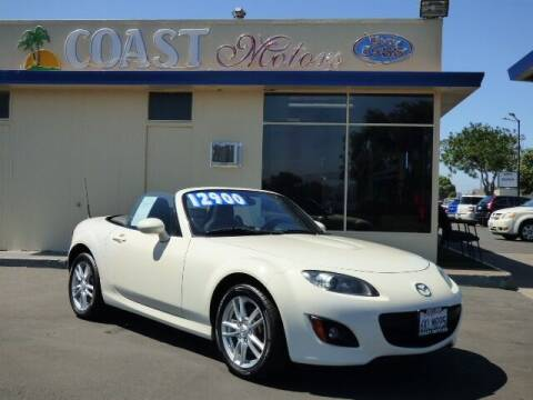 2009 Mazda MX-5 Miata for sale at Coast Motors in Arroyo Grande CA