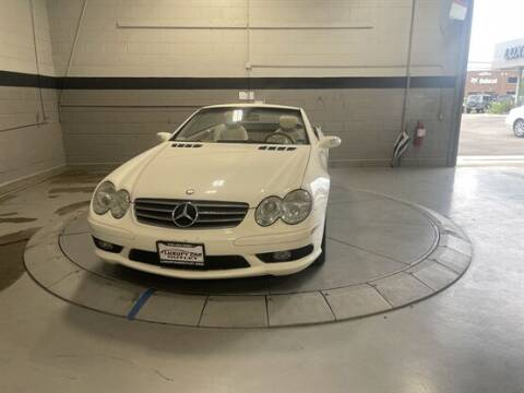 2004 Mercedes-Benz SL-Class for sale at Luxury Car Outlet in West Chicago IL