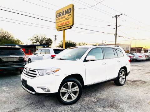 2012 Toyota Highlander for sale at Grand Auto Sales in Tampa FL