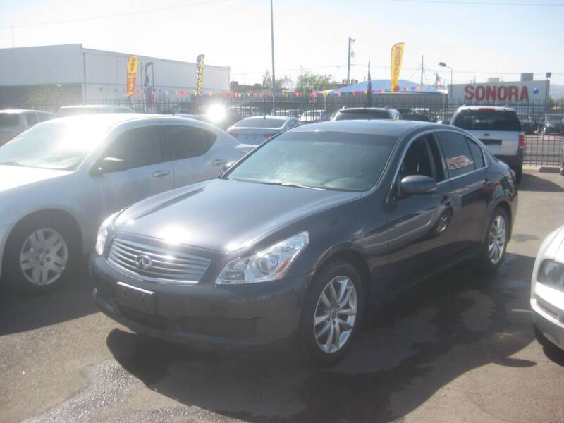 2007 Infiniti G35 for sale at Town and Country Motors - 1702 East Van Buren Street in Phoenix AZ