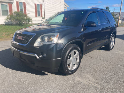 2008 GMC Acadia for sale at D'Ambroise Auto Sales in Lowell MA