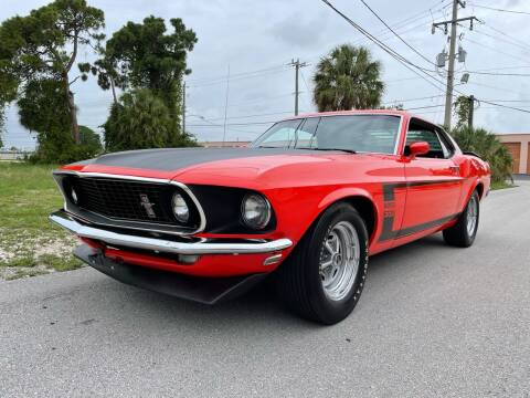 1969 Ford Mustang Boss 302 for sale at American Classics Autotrader LLC in Pompano Beach FL
