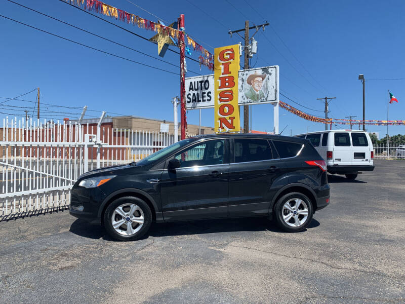 2015 Ford Escape for sale at Robert B Gibson Auto Sales INC in Albuquerque NM