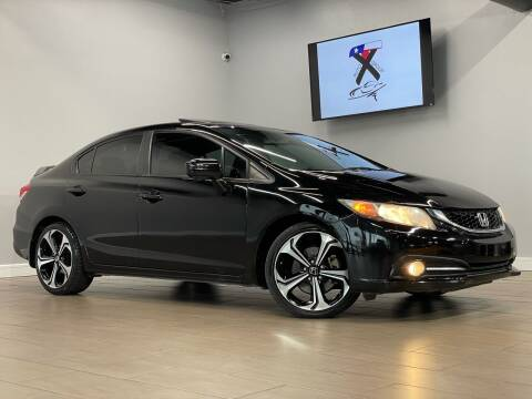 2015 Honda Civic for sale at TX Auto Group in Houston TX