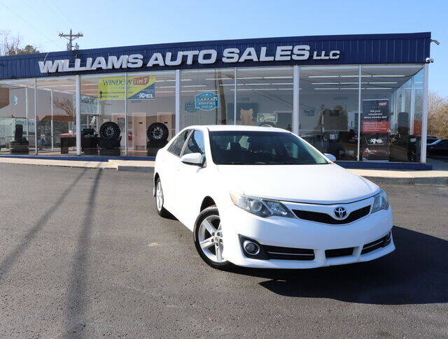 2012 Toyota Camry for sale at Williams Auto Sales, LLC in Cookeville TN