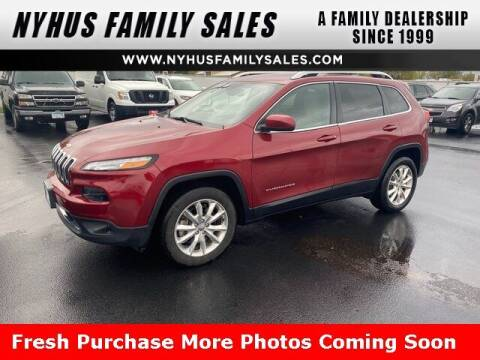 2015 Jeep Cherokee for sale at Nyhus Family Sales in Perham MN
