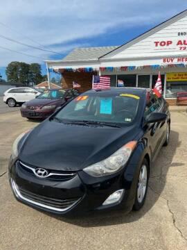 2013 Hyundai Elantra for sale at Top Auto Sales in Petersburg VA